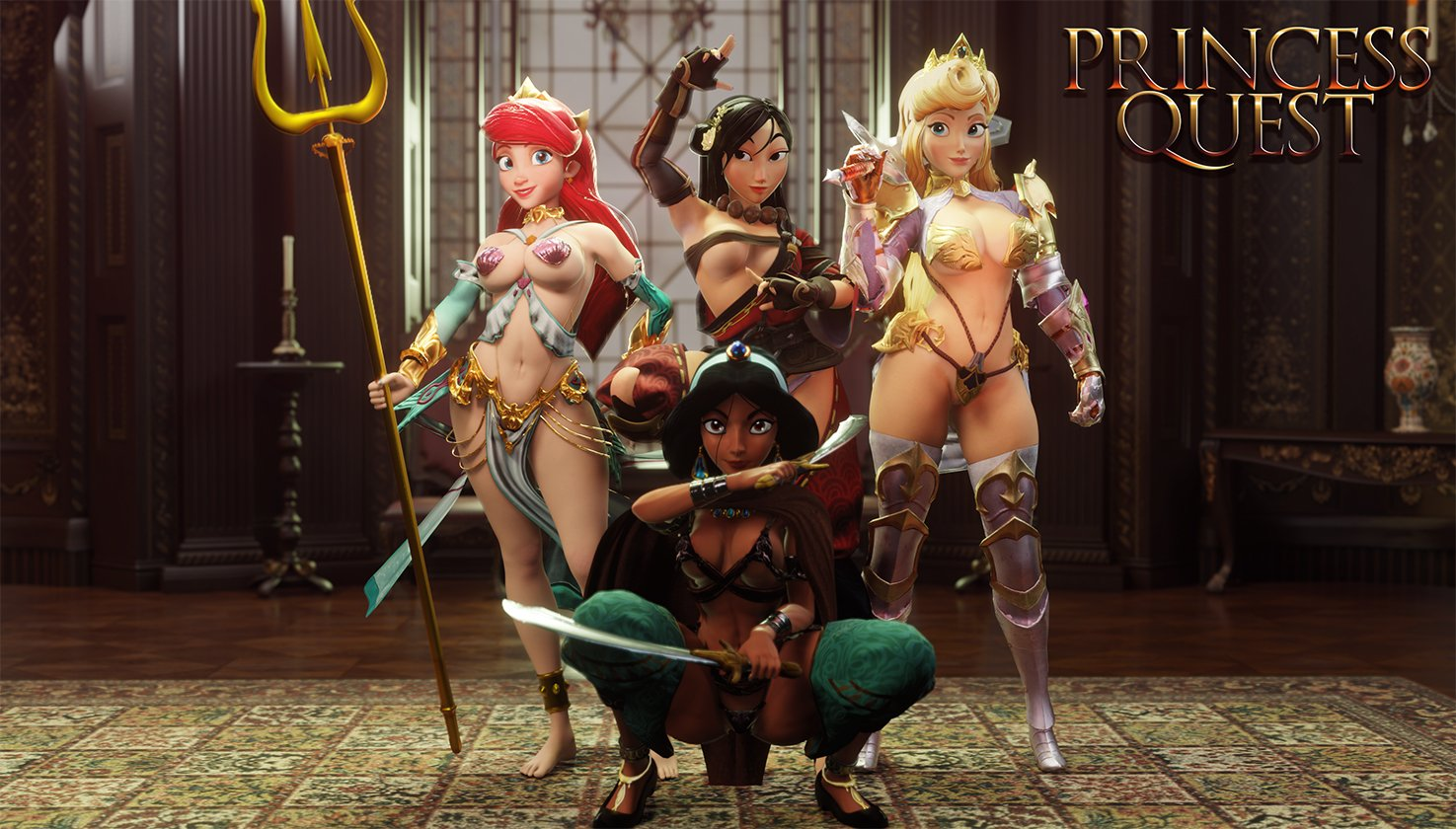 3D Porn Princess princess quest is looking mighty nice